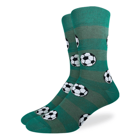 Unisex Lawn Gnomes Cotton Crew Socks by Good Luck Sock