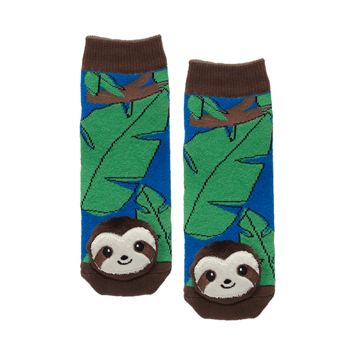 "Lil Traveller Kids ""Sloth"" Socks by Parkdale Novelty"