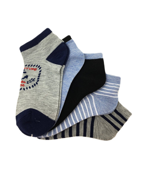 Kid's Assorted Marine Socks - 5PK