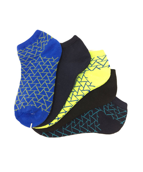 Kid's Assorted Geometric Socks - 5PK