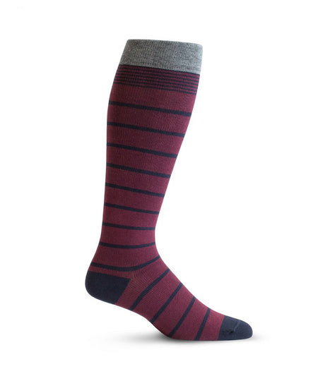 """Front Runner"" Cotton Compression Socks by Top & Derby (15-20 mmHg)"