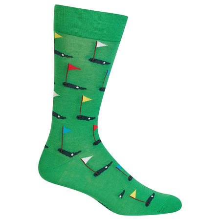 Men's Eggs Cotton Dress Crew Socks by YO Sox