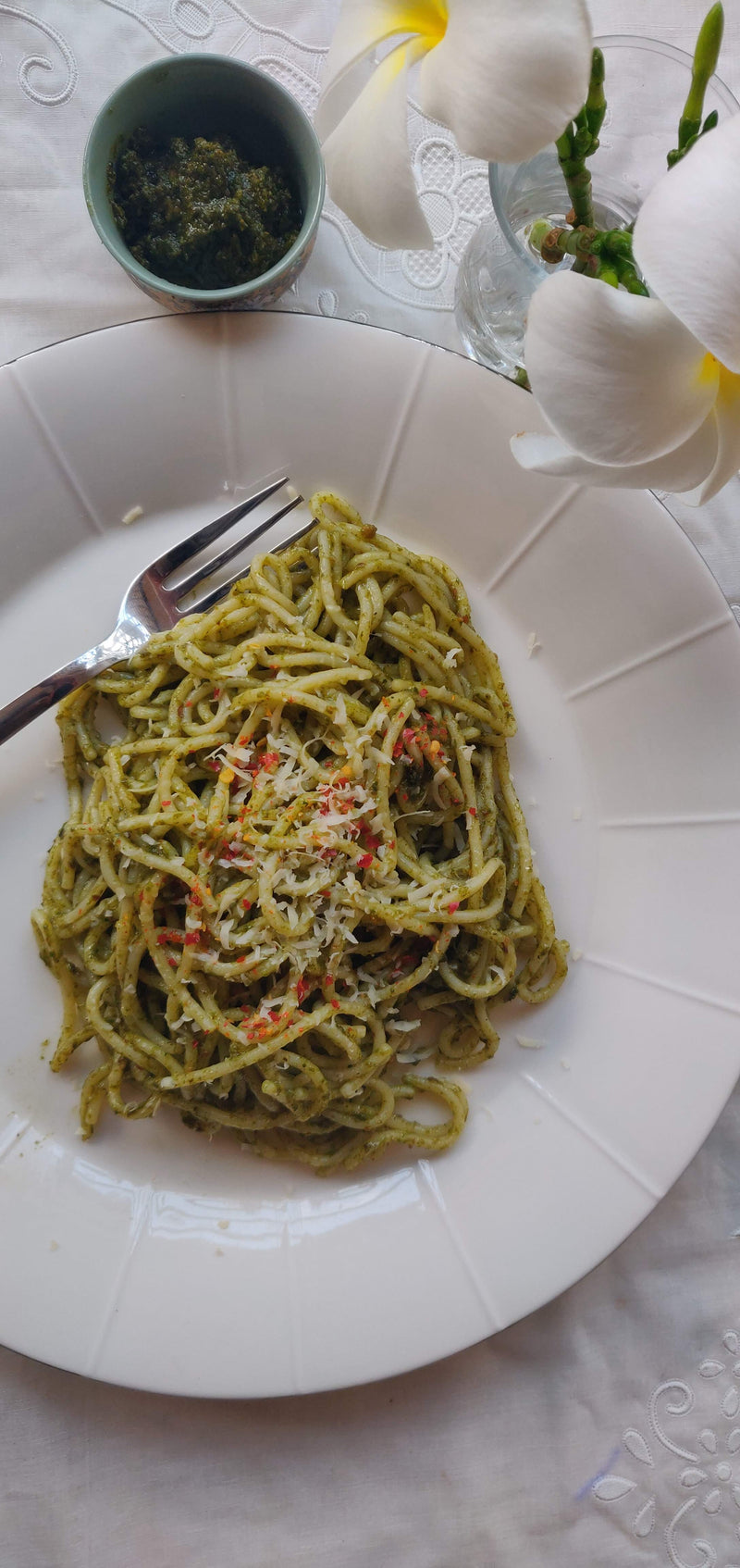 Basil Pesto Paste Recipe