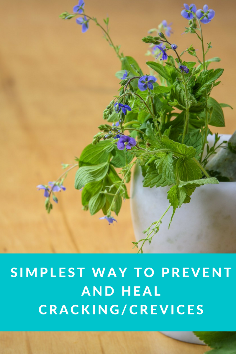 Simplest ways to prevent and heal crevices/cracks