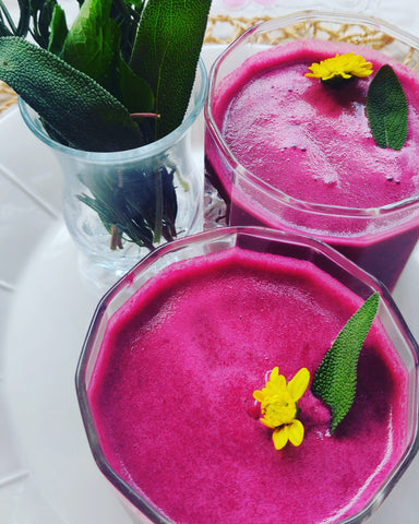 Vegetable smoothie recipe by Aroma Pacific