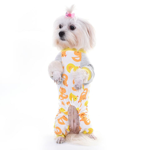 Dog pattern pajama soft cozy fetchdogboutique dog pajamas - Fetch D.o.g Boutique