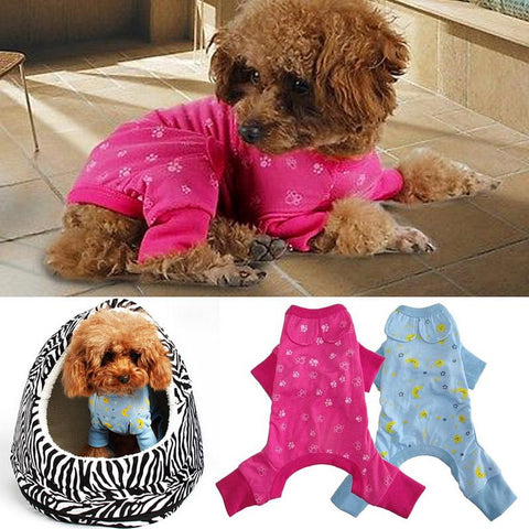 Comfortable Puppy Shirt Pajama fetchdogboutique dog pajamas - Fetch D.o.g Boutique