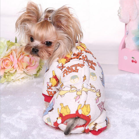 Petwalk Warm fetchdogboutique dog pajamas - Fetch D.o.g Boutique
