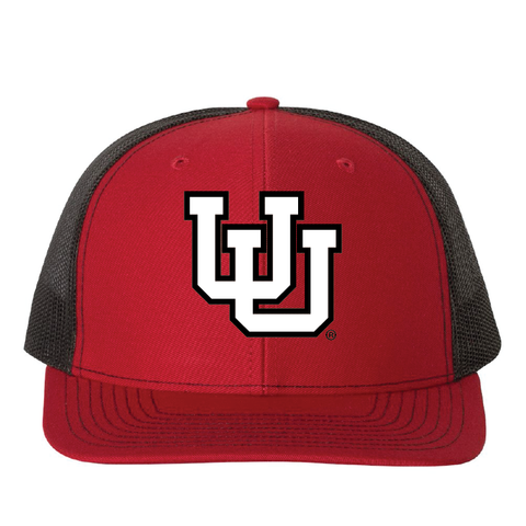 Red/Black/Red Trucker Snapback