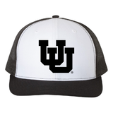 Black/White/Black Trucker Snapback