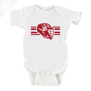 Interlocking UU Utah Utese - Onesie