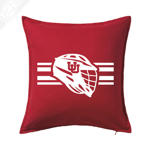 Interlocking UU Utah Utese - Pillow