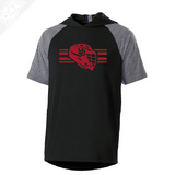Interlocking UU Utah Utese - Echo Short Sleeve Hoodie
