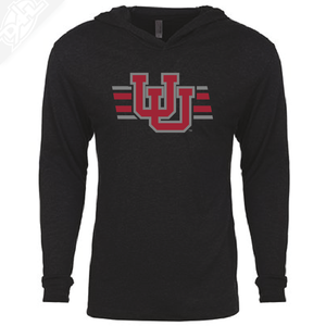 Interlocking UU w/Utah Strpe Two Colors - T-Shirt Hoodie