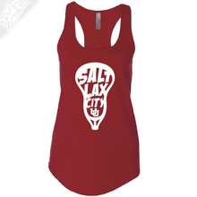 Load image into Gallery viewer, Salt LAX City Lacrosse - Womens Tank Top