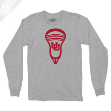 Load image into Gallery viewer, Interlocking UU Lacrosse Head - Long Sleeve