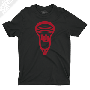 Interlocking UU Lacrosse Head - Boys T-Shirt