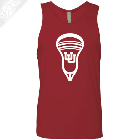 Interlocking UU Lacrosse Head - Mens Tank Top