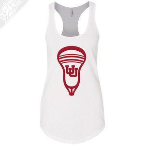 Interlocking UU Lacrosse Head - Womens Tank Top