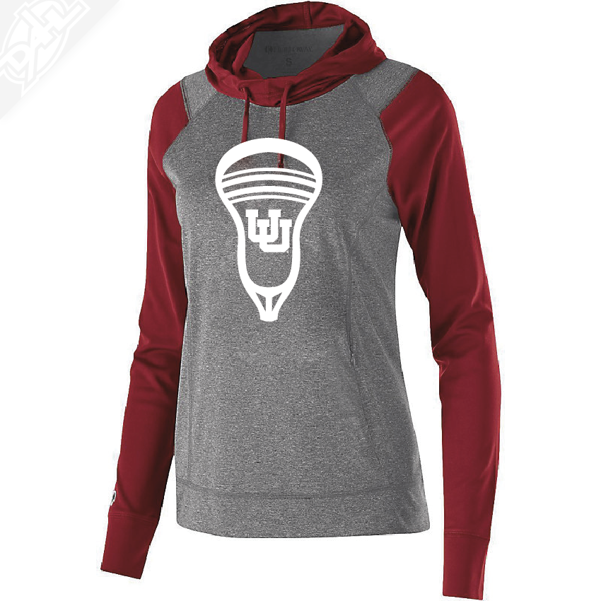 Interlocking UU Lacrosse Head - Womens Echo Hoodie