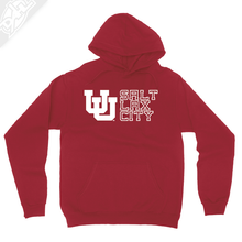Load image into Gallery viewer, Interlocking UU Salt Lax City - Hoodie