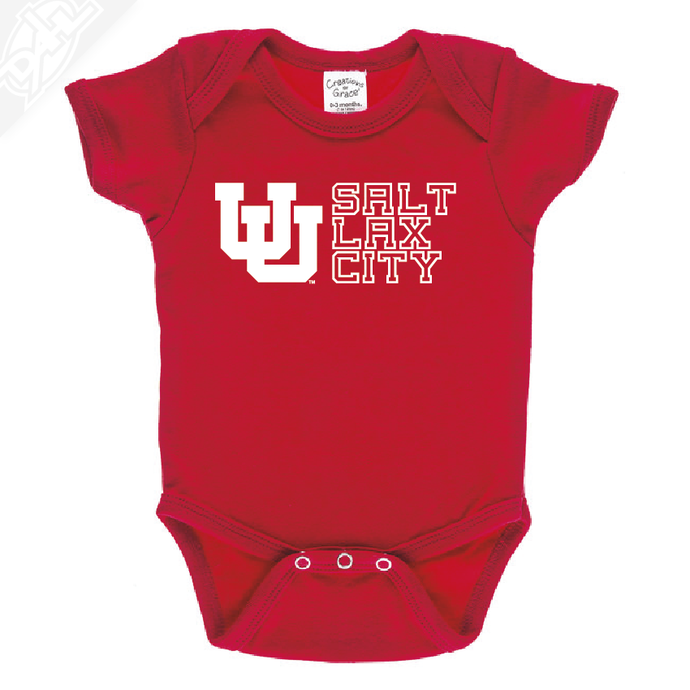 Interlocking UU Salt Lax City - Onesie