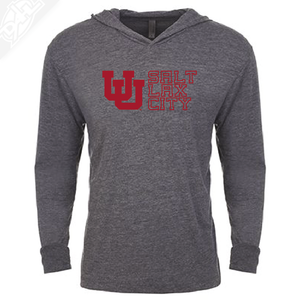Interlocking UU Salt Lax City - T-Shirt Hoodie