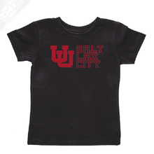 Load image into Gallery viewer, Interlocking UU Salt Lax City - Infant/Toddler Shirt