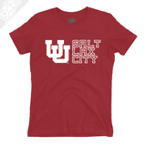 Interlocking UU Salt Lax City - Womens T-Shirt