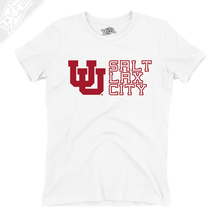 Load image into Gallery viewer, Interlocking UU Salt Lax City - Girls T-Shirt