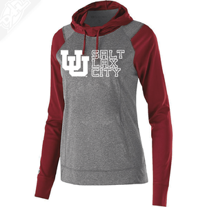 Interlocking UU Salt Lax City - Womens Echo Hoodie