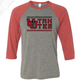 Interlocking UU Utah Utes - 3/4 Sleeve Baseball Shirt
