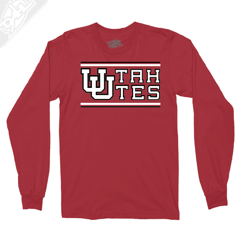 Interlocking UU Utah Utes - Long Sleeve