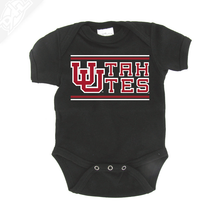 Load image into Gallery viewer, Interlocking UU Utah Utes - Onesie