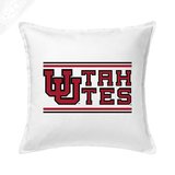 Interlocking UU Utah Utes - Pillow