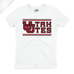 Interlocking UU Utah Utes - Girls T-Shirt