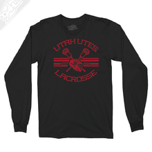 Load image into Gallery viewer, Utah Utes Lacrosse - Long Sleeve