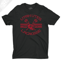 Load image into Gallery viewer, Utah Utes Lacrosse - Mens T-Shirt