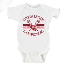 Load image into Gallery viewer, Utah Utes Lacrosse - Onesie