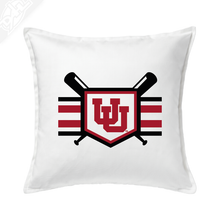 Load image into Gallery viewer, Baseball w/Utah Stripe - Pillow