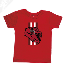 Load image into Gallery viewer, Lacrosse w/Utah Stripe - Infant/Toddler Shirt