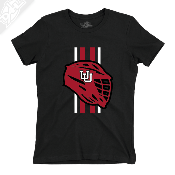 Lacrosse w/Utah Stripe - Girls T-Shirt