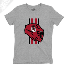 Load image into Gallery viewer, Lacrosse w/Utah Stripe - Womens T-Shirt
