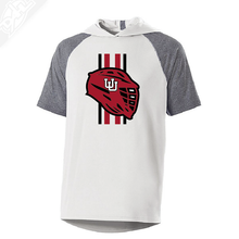 Load image into Gallery viewer, Lacrosse w/Utah Stripe - Echo Short Sleeve Hoodie