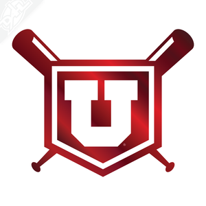 Plate Block U Baseball Vinyl Decal
