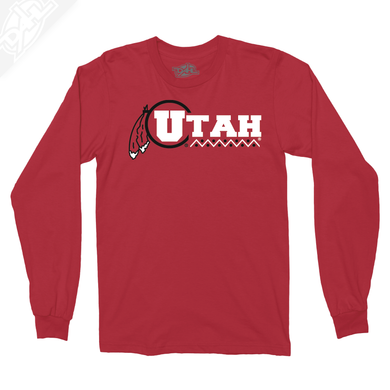 Utah Basketball Throwback - Long Sleeve