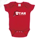 Utah Basketball Throwback - Onesie