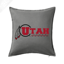 Load image into Gallery viewer, Utah Basketball Throwback - Pillow