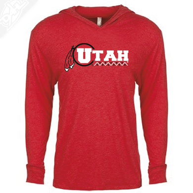 Utah Basketball Throwback - T-Shirt Hoodie