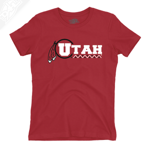 Utah Basketball Throwback - Girls T-Shirt